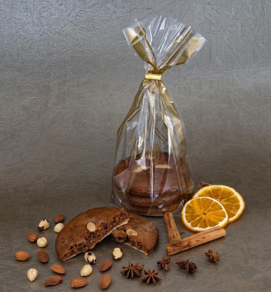 Elisen-Lebkuchen unglasiert - 3 Stück