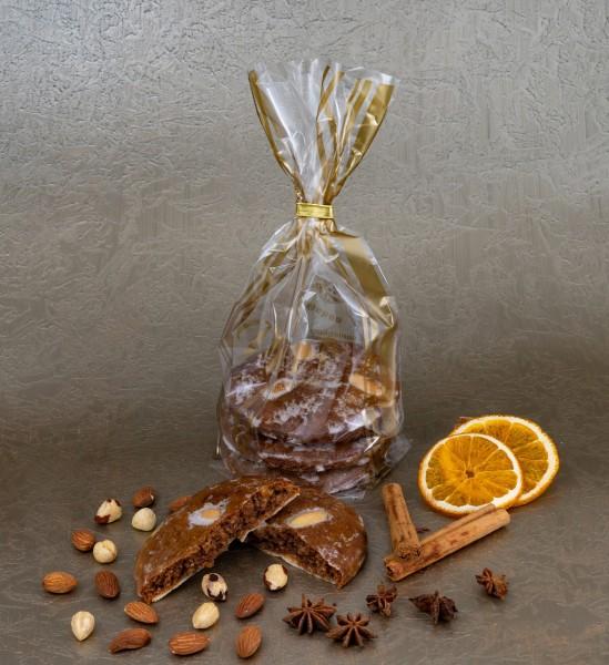 Elisen-Lebkuchen glasiert - 3 Stück