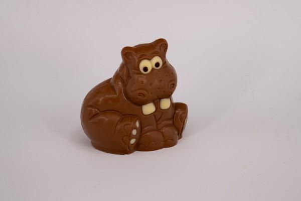 Schokoladenfigur Nilpferd