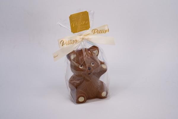 Schokoladenfigur Bär stehend